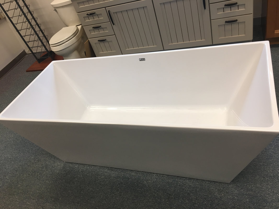 freestanding deep soaking tub. Fleurco Freestanding Soaking Tub Bathroom and Plumbing Fixtures  Chelsea Lumber Company