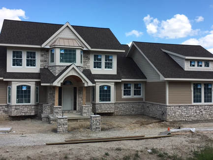 Custom Built home in The Preserves subdivision in Dexter, MI