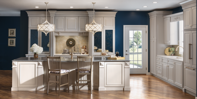 Kraftmaid Vantage semi-custom cabinetry, kitchen and bath cabinets