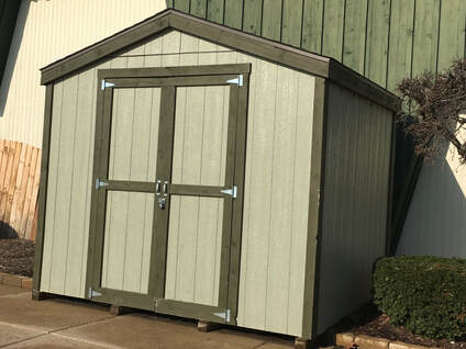 Ready To Build Shed Packages Standard And Custom Design Options Available