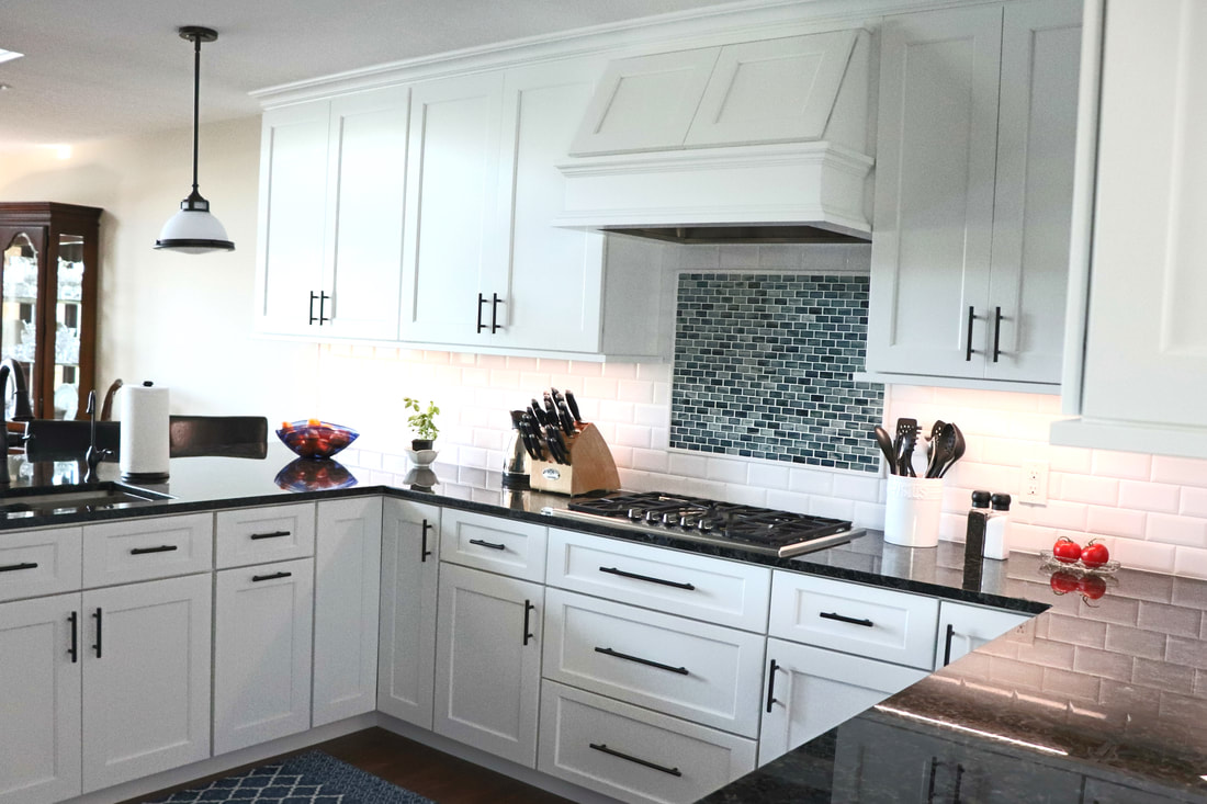 Woodharbor Custom White Kitchen Remodel Chelsea Lumber Company